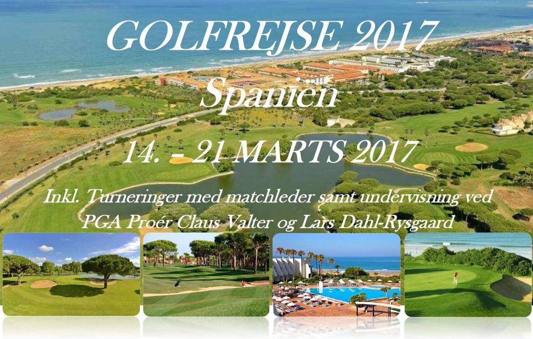 Golfrejse 2017 i Spanien
